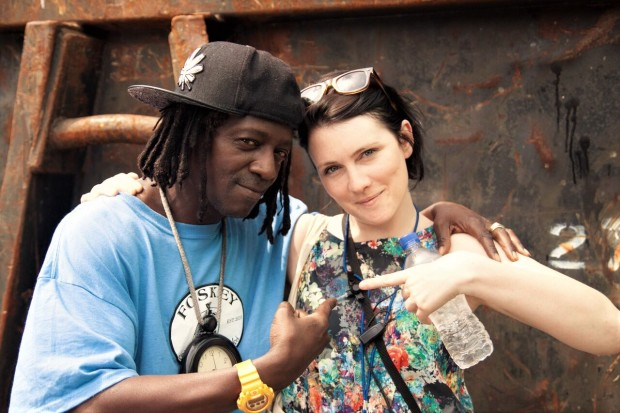 2014 Sarah Nulty & Flava Flav - credit Simon Butler_preview